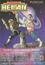 X1804 He-Man - Optikk e Tatarus - Mattel - Pubblicità del 1990 - Vintage advert