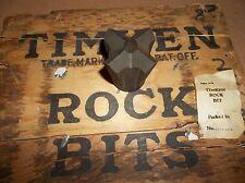 Timken Rock Bit-1 3/4 Inch Dia.-Mining, Rock Drilling-New Old Stock