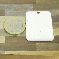 4 Colgantes Para Grabar 40x28mm T488X Plata Tibetana Charms Plate Engraving