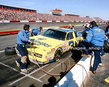 DALE EARNHARDT #3 WRANGLER  1985 NASCAR PIT STOP  8x10 GLOSSY PHOTO #105