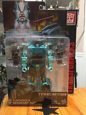 Transformers Generations Titans Return Deluxe Class SERGEANT KUP & FLINTLOCK