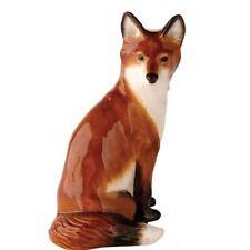 New boxed JOHN BESWICK sitting fox ornament, JBW14 wildlife figure