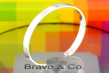 7SB-224 Bravo & Co. Solid 925 Sterling Silver Wristband Cuff Bangle Men Bracelet