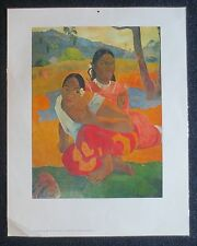 Paul Gaugin - When Do You Marry? - Original Laminated Art Print