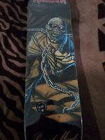 """Iron Maiden """"Piece Of Mind"""" Skateboard Deck ZERO 8.125"""""""