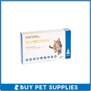 Revolution for Cats 2.6-7.5kg Blue 3 Pack