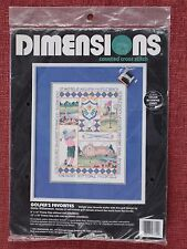 Dimensions, Counted Cross Stitch, Golfer's Favorites, Sealed 3742, F1