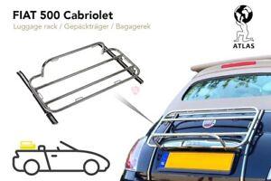 HECKGEPÄCKTRÄGER FIAT 500C 2009-2020 CABRIO MAßGESCHNEIDERTE 500 HECKTRÄGER  NEU