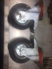 heavy duty swivel castor wheels X 2