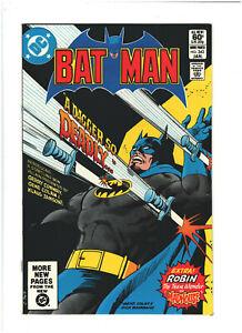 Batman #343 VF+ 8.5 DC Comics 1982 Bronze Age Gerry Conway & Gene Colan