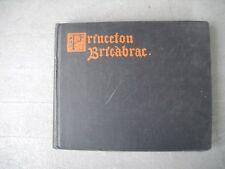 "Vintage 1902 Princeton University College School Yearbook ""Bric-a-brac"""