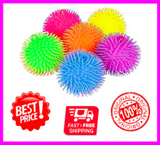 9 Inch Two Tone Large Jumbo Puffer Ball Stress Ball for Kids Tactile Fidget Toy