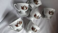 Hendricks Gin 6 Cups 5 Saucers - All 6 Newsies - Excellent