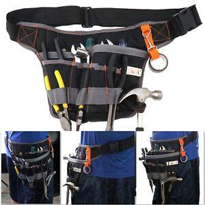 Heavy Duty Tool Belt Pouch Carpenter Builder Construction Electricians Work Belt