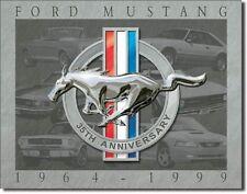 Mustang - 35th Anniversary Metal Tin Sign Wall Art