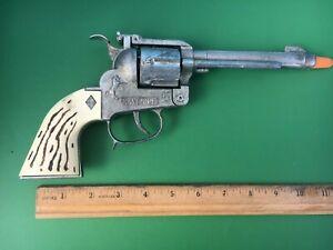 TV MAVERICK Diecast 45 CAP GUN 10 1/2 inch - Made by Wild West Toys