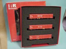 Rivarossi HR6181 Güterwagen-Set Eaos DB Cargo Ep.IV - 3teilig /TOP+OVP