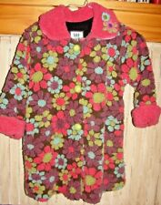 CORKY & COMPANY LITTLE GIRLS SIZE 6X GORGEOUS WINTER FLORAL COAT