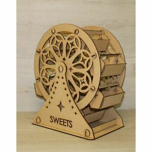 C20 CANDY FERRIS WHEEL XX LARGE DONUT WALL CANDY CART WEDDING PARTY