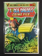 Judge Dredd Crime File #1 Eagle Comics Combine Shipping