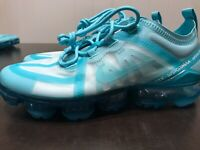 Nike Air VaporMax 2019 Teal Tint Tropical Twist Women's Size 8 Shoes CI9903-300