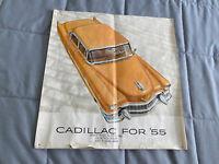 1955 Cadillac Advertisement ORIGINAL