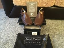Samuel Windsor Brown Hand made leather shoe size Uk 9 RRP£99.95.