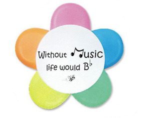 Music Bumblebees 5-Colour Highlighter New