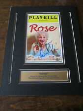 Signed Olympia Dukakis Rose Lyceum Theatre Playbill April 2000