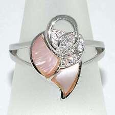 Ringe mit Opal Edelsteinen echten Rhodinierte für Damen