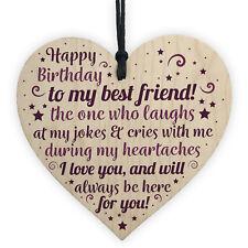 Birthday Friend Gifts Heart Special Friendship Plaque Card Best Friend Present