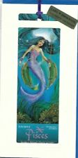 IN THE SPIRIT OF PISCES FOLDED CARD WITH BOOKMARK -SPIRITUAL BIRTHDAY ASTROLOGY
