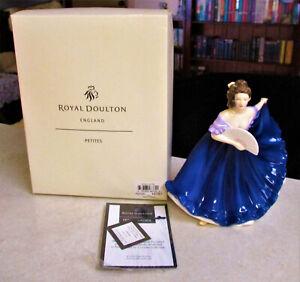 "Lovely ROYAL DOULTON  Figurine  "" Elaine ""    17cm High - Petite - Original Box"