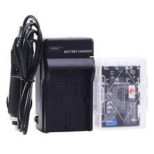 DSTE LP-E6 LP-E6N Battery + Charger for Canon 7D Mark III II 7D 60D 80D EOS R