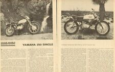 1968 Yamaha 250 DT1 Single Motorcycle Road Test - 6-Page Vintage Article