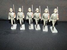 Elastolin Lineol Soldaten Konvolut 6 Stück Soldaten !