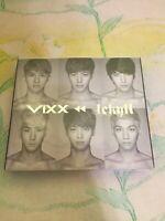 VIXX 1st Mini Album Repackage Jekyll CD CMCC10141 Hyde Chaos Love Letter