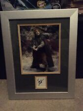 Framed Lords Of The Rings Sean Austin  Autograph And Picture Piece