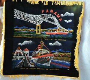 PANAMA CANAL PILLOW COVERING