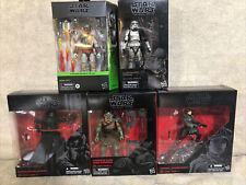 Star Wars Black Series Gamorrean Guard + Boba Fett + Kylo Ren + Mimban + Jyn Ers