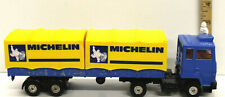 Vintage Corgi Michelin Mr. Bib Ford Truck Articulated Trailer Diecast England