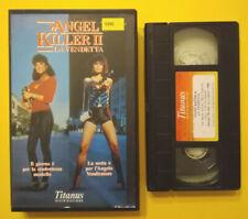 VHS Film Ita Azione ANGEL KILLER II La Vendetta ex nolo no dvd cd lp mc (V184)