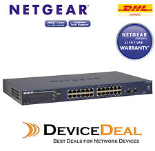 NETGEAR GS724T v4 Prosafe 24 Port Gigabit Smart Switch GS724Tv4