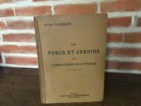Jules VACHEROT Les Parcs et Jardins du XXe siècle Octave Doin Lib. Agricole 1908