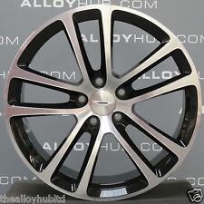 "Genuine Aston Martin Db9 19""inch 5 Twin Spoke Forged Black Alloy Wheels X4"