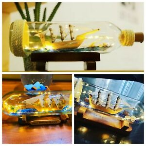 Ship in bottle special for your home Beautiful GLASS need for your home ship
