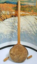 Native American Hand Made Leather Dancing Drum Rattle