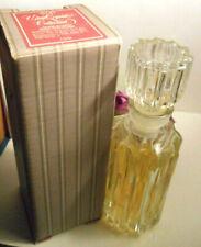 "Avon Ultra CrystalCollection cologne decanter""Ariane""ultra cologne2.0 fl.oz.1981"