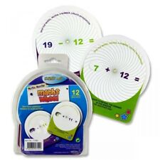 Childrens Maths Wheel -Addition & Subtraction- Teach Numeracy -Educational & Fun