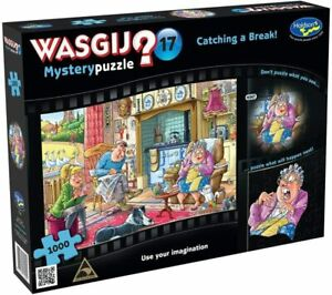 Holdson Wasgij Mystery #17 CATCHING A BREAK! 1000 Piece Jigsaw Puzzle NEW